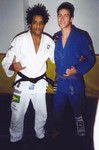 Bulu and I in Brazil Summer 2001