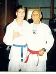 Helio Gracie and I  Fall 1997